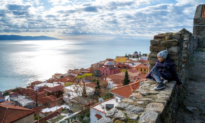кпрепост в Кавала Гърция