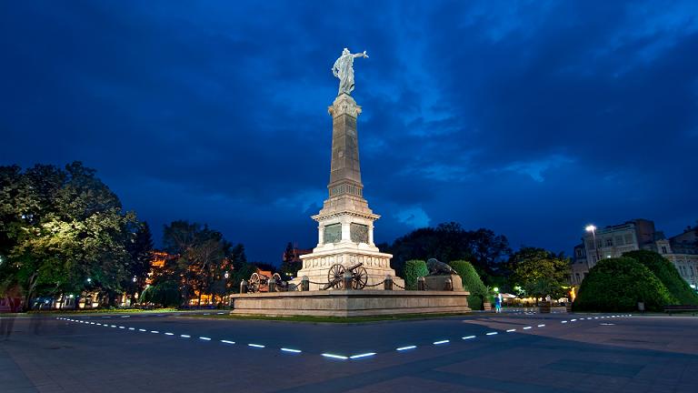 паметника на центърана град Русе